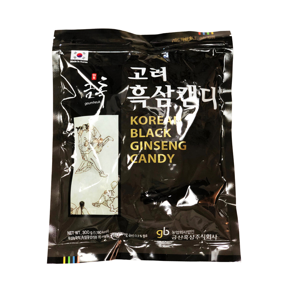 Korean Black Ginseng Candy