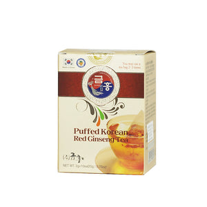 Korean Red Ginseng Tea Puffed