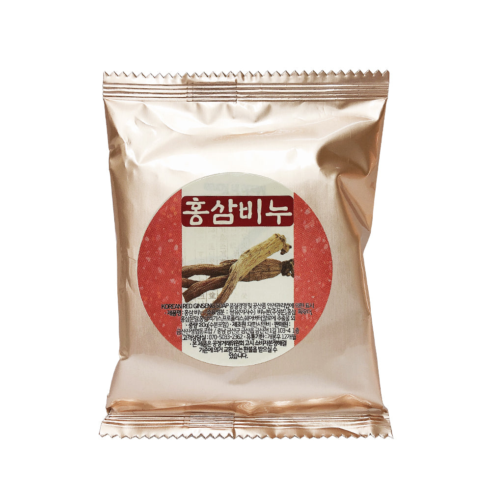 [GeumBaek] Soap Korean Red Ginseng (Face & Body)-Beauty
