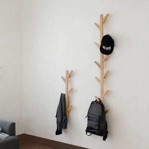 Tree Shape Bamboo Coat Rack