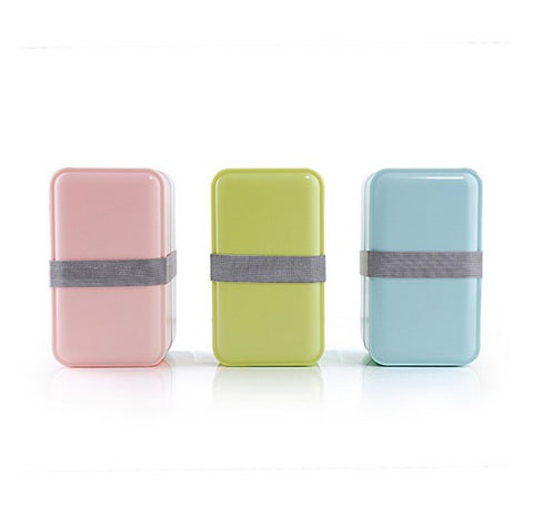 1000ml Double Layer Bento Box