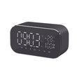 LED Alarm Clock with FM Radio, Wireless Bluetooth, Speaker Support & Aux