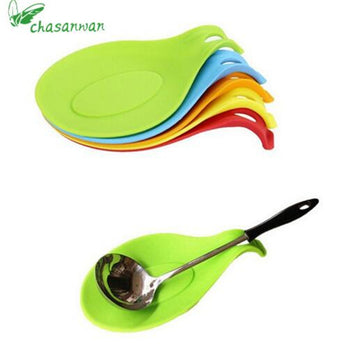 Silicone Spoon Mat,Spatula European Style Spoon Pad for Kitchen