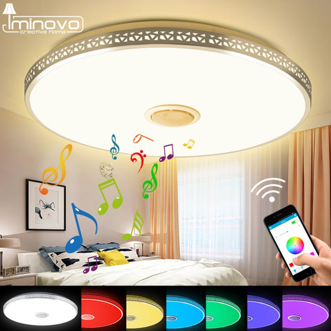 Modern Bluetooth Speaker Ceiling Light | Ceiling Light | Bluetooth