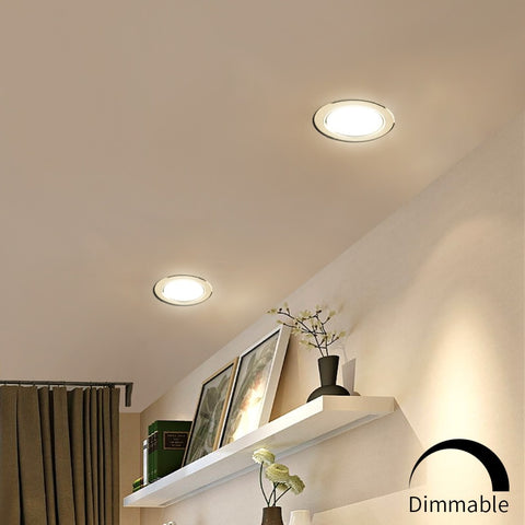 Ultra Thin Led Panel Downlight Recessed Down Light