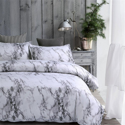 Twin/Queen/King Gray Bedroom Comforter Bedding Sets