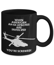 When American AH-64 Apaches Are Involved You're Screwed!