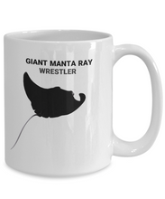 Giant Manta Ray Wrestler