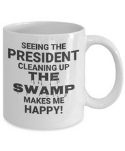 See The President Cleaning Up The Swamo Makes Me Happy!