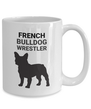 French Bulldog Wrestler