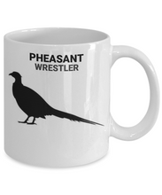 Pheasant Wrestler Coffee Cup