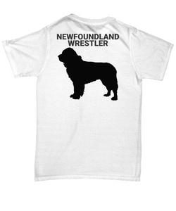 Newfoundland Wrestler Adult T-Shirt