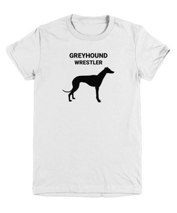 GREYHOUND WRESTLER, Youth, Cotton, T-Shirts