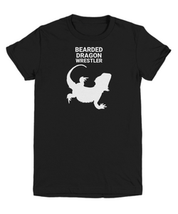 Bearded Dragon Wrestler Black Youth T-Shirt