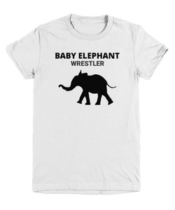 Baby Elephant Wrestler Youth T-Shirt