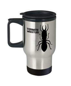 Termite Wrestler Travel Mug