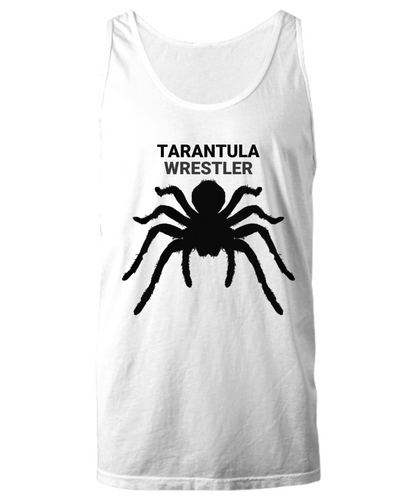 Tarantula Wrestler White & Gray Tank Tops