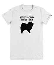 Keeshond Wrestler Youth T-Shirt