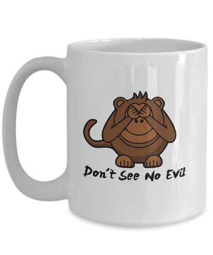 Three Wise Monkeys Don't See No Evil 15