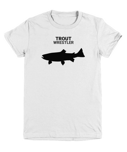 Trout Wrestler Youth T-Shirt
