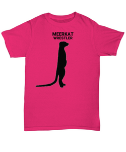 Meerkkat Wrestler Adult T-Shirt B