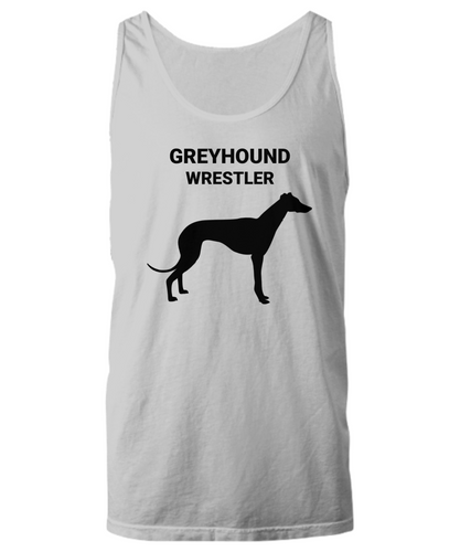 GREYHOUND WRESTLER, Unisex, Cotton, Tank Tops