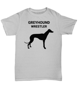 GREYHOUND WRESTLER, Adult, Cotton, T-Shirts