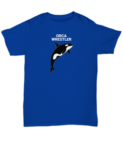 ORCA WRESTLER Adult T-Shirts