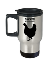 Chicken Wrestler Travel Mug