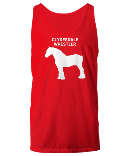 Clydesdale Wrestler Unisex Tank Tops