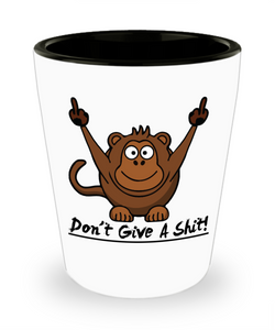 Wise Monkey Don't Give A Shit! SG