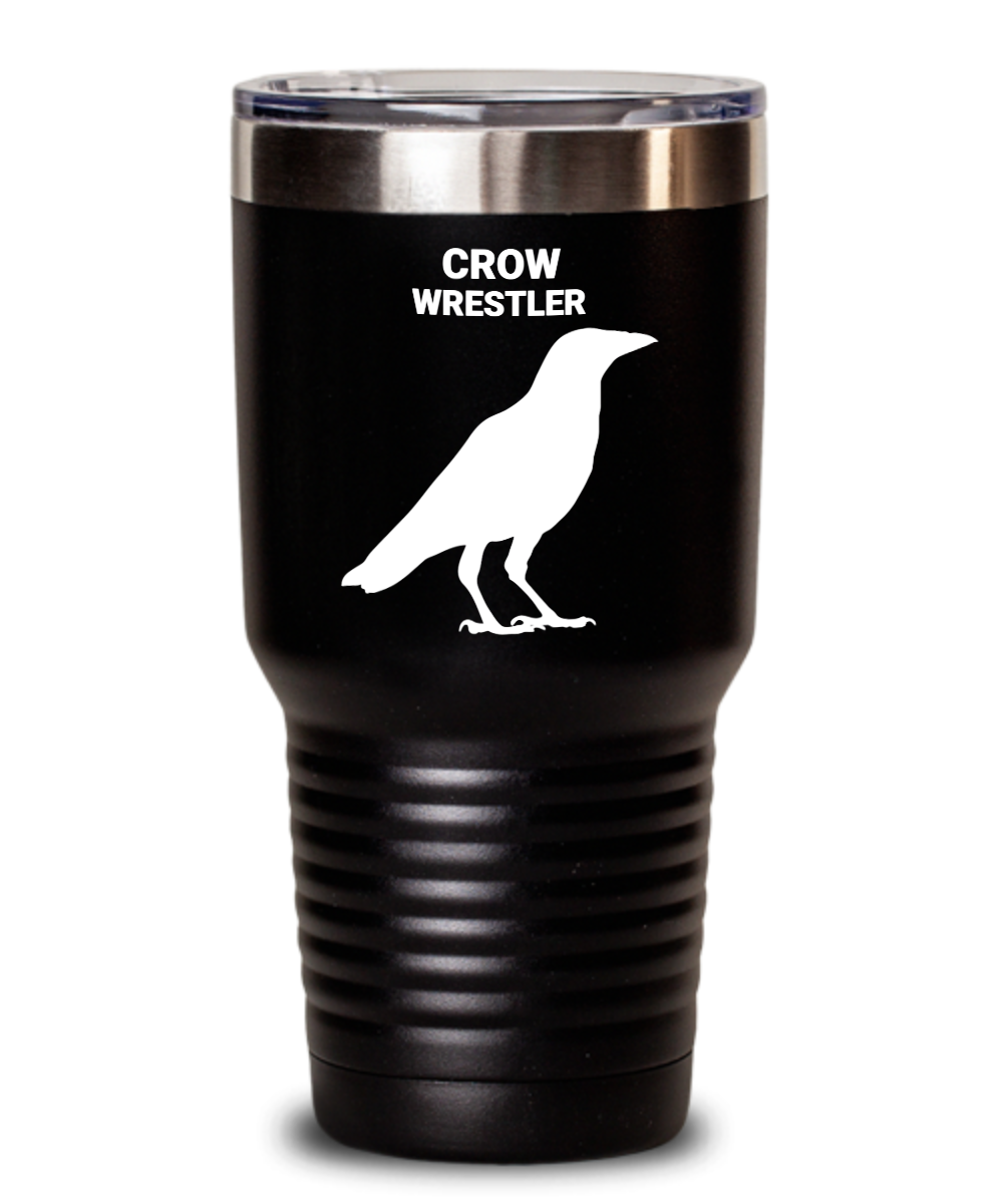 Crow Wrestler Black Tumblers