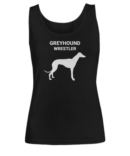 GREYHOUND WRESTLER, Cotton, Women's, Tank Tops