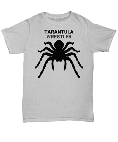 Tarantula Wrestler Gray Adult T-Shirt