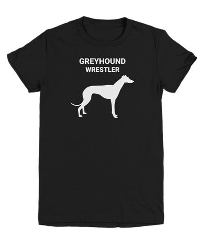 GREYHOUND WRESTLER, Cotton, Youth, T-Shirts