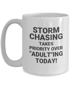 "STORM CHASING TAKES PRIORITY OVER ""ADULT""ING TODAY! cc"