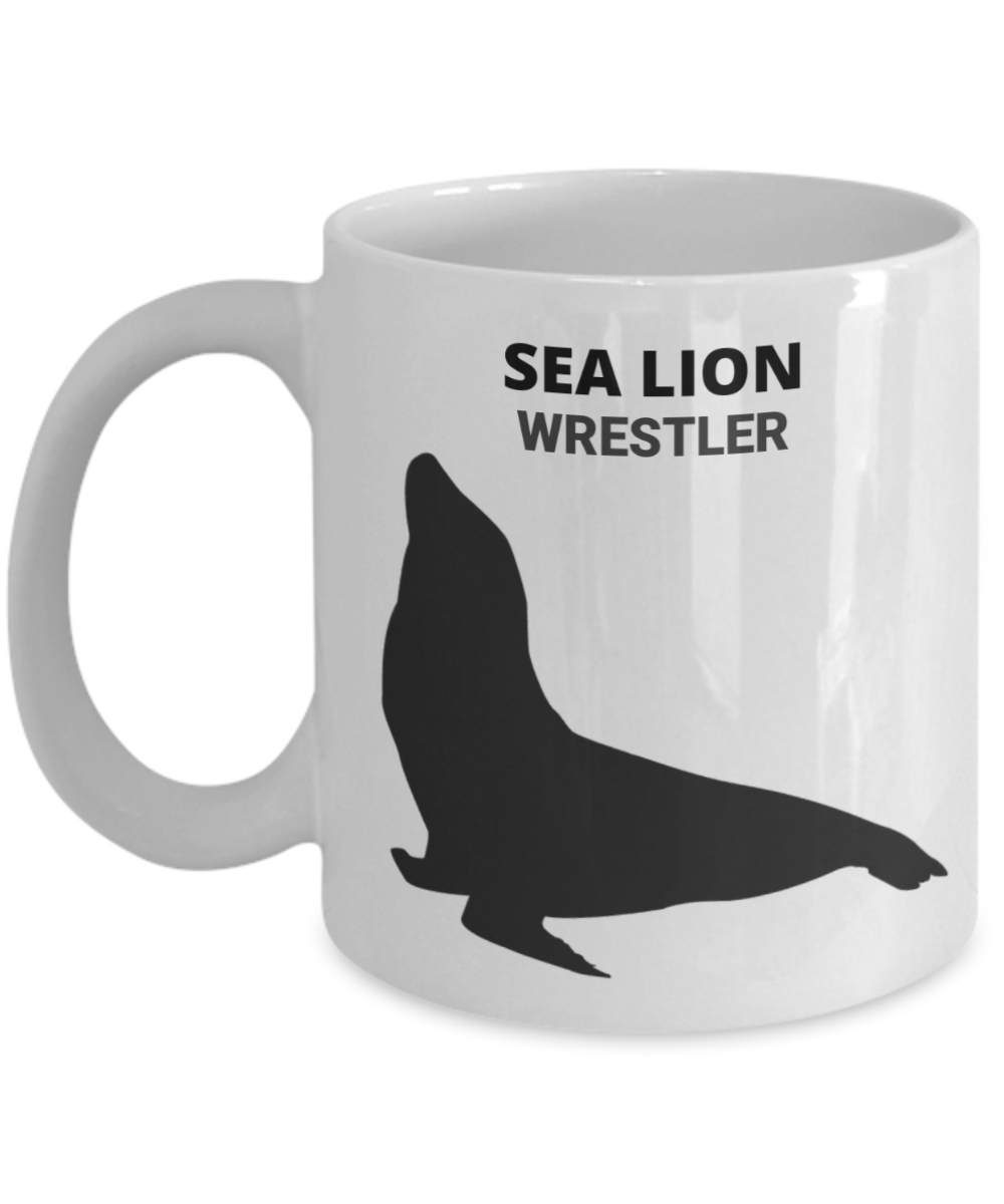 Sea Lion Wrestler