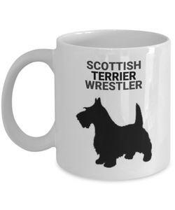 Scottish Terrier Wrestler
