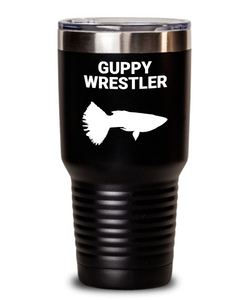 Guppy Wrestler Black Tumblers