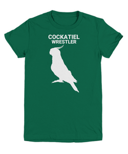 Cockatiel Wrestler Youth T-Shirts