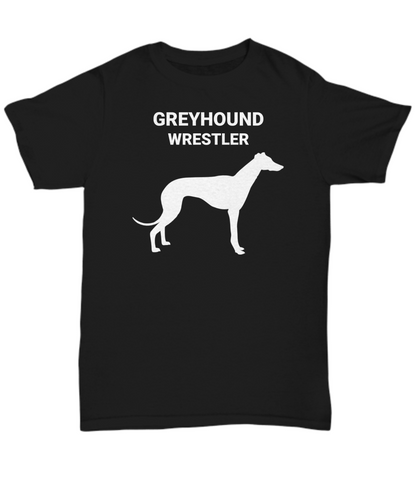 GREYHOUND WRESTLER, Cotton, Adult, T-Shirts