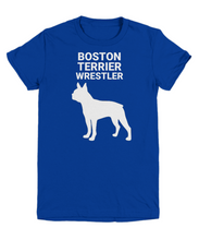 Boston Terrier Wrestler, Youth, Coton, T-Shirts