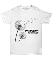 Dandelion Wrestler Adult T-Shirt