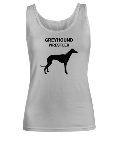 GREYHOUND WRESTLER, Women's, Cotton, Tank Tops