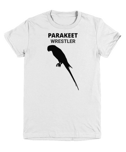 Parakeet Wrestler Youth T-Shirt