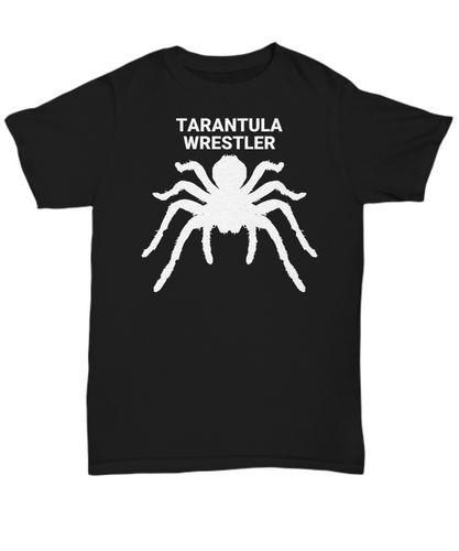 Tarantula Wrestler Adult T-Shirts