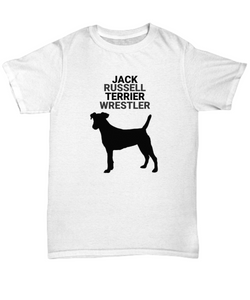 Jack Russell Terrier Wrestler Adult T-Shirt