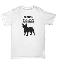 French Bulldog Wrestler Adult T-Shirt
