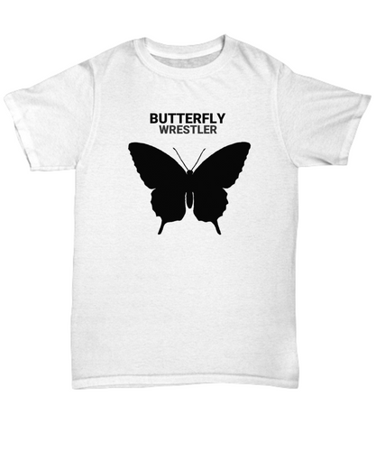 Butterfly Wrestler Adult T-Shirt