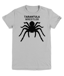 Tarantula Wrestler Gray Youth T-Shirt